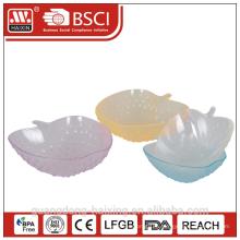 HAIXING популярные Apple форму пластиковая чаша
