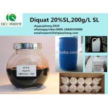 Producto fitosanitario / weedicides selectivos 20% SL 200g / L SL Diquat, cas: 85-00-7-lq