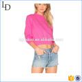 Cropped top casual hoodies mulheres OEM camisola para mulheres Casuais Hoodies das mulheres