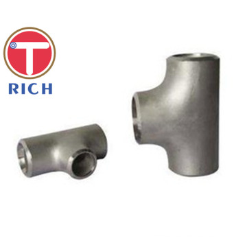 TORICH GB / T12459 Dilas Stainless Steel Mengurangi Tee