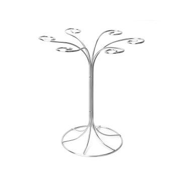 Stainless steel goblet holder rack wire mug rack