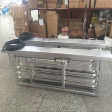 Sistema de Esterilizador Ultravioleta de Canal Aberto 5000m3 / Dia para Aquicultura Recirculating