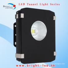 Низкий спад Высокие люмены Bridgelux IP65 COB CE и RoHS 3 года гарантии Светодиодные туннельные светильники 50W