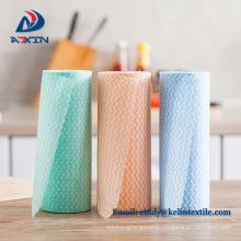 Spunlace non-woven disposable dish dry cloth