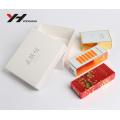 Papier de papier d'aluminium personnalisé or avec UV vernis mat emballage de parfum composent boîte de papier