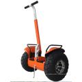 два колеса вне баланса электрического автомобиля