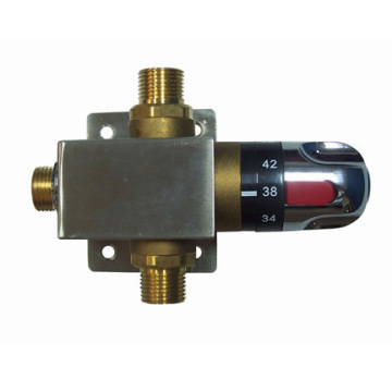 Hot/Cold Water Thermostatic Mixing Valve For Faucets