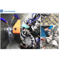 CRBH25025 high speed inner ring rotation slewing ring crossed roller bearing