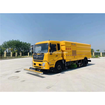 Runway Street Road Highway Airport Vacuum Road Sweeper Truck