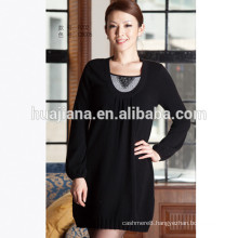 ladies 100% cashmere knits sweater dresses