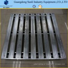 Palete de metal inoxidável de empilhamento CE-aprovado do racking