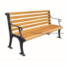 UV Proof Water Proof Garden Park Bench Indoor Outdoor Composite Wood Bench WPC Plastic Bench