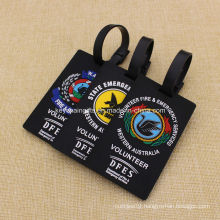 High Quality Custom Soft PVC Luggage Tags for Government