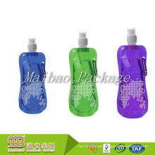 Wholesale Logo Printing Clear Water Liquid Packing Plastic Reusable Food Grade Spout Pouch Custom Drinking Bag