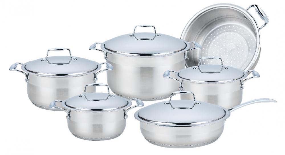 Cookware Set with Casting Handles