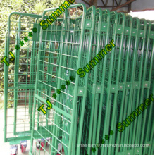 Movable Folding Nesting Roll Container
