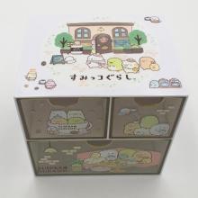 Aufbewahrungsbox aus Kunststoff mit Schubladen