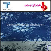 Заказной уникальный цветок печати хлопка Добби плетения ткани для леди платье/хлопок Добби ткани/Роуз печатных жаккардовая ткань