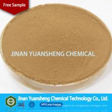 Lignosulfonato de calcio aditivo auxiliar de bronceado de cuero