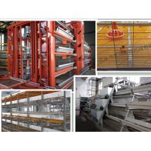 Verzinkter automatischer H-Rahmen-Layer-Käfig mit ISO9001 zertifiziert