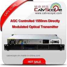 Transmetteur à laser optique à modulation directe 1550nm à haut rendement CATV Single Module 1550nm