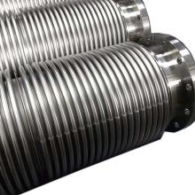 Anpassung Flansch flexibler Metallwellkompensator