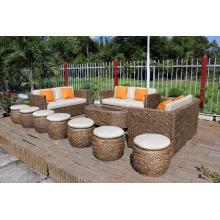El más vendido Water Hyacinth Living set para el diseño de lujo de los muebles caseros de interior
