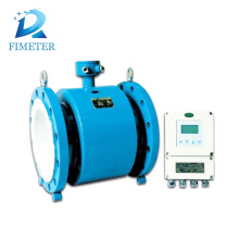 China stainless steel electromagnetic flowmeter flange connection