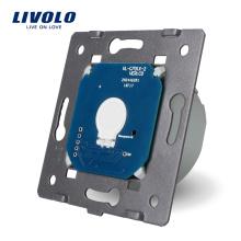 Livolo Fabricant Norme EU La base de la lumière murale à écran tactile Interrupteur électrique 1 voie 1 voie VL-C701