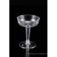 4oz Champagne vidro transparente plástico vinho glassess / xícaras - coquetéis
