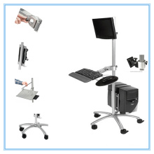 Furniture Desk Workstation Hospital Medical Computer Table