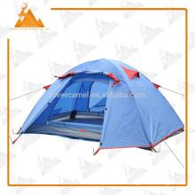 200 * 130 * 110 CM Double couche 2 personne extérieure Camping randonnée tente