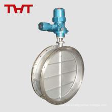 High temperature blast butterfly valve high temperature solenoid valve