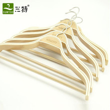 factory supply display style laminated plywood women hanger