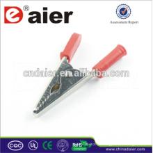 Clips de cocodrilo ajustables / clips de batería de 9 voltios / clips de aligater