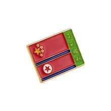 Pin nacional da bandeira, emblema macio do esmalte (GZHY-LP-050)