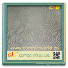 Fashion new design colorful jacquard curtain soft fabric design