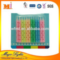 High Quality Decorative Taper Candles For Birthday