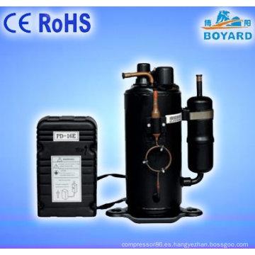 Comercial de cubos de hielo que hace la máquina para la bebida o trago barato unidad de refrigeración de congelador para helado helado compresor