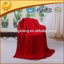 Cobertores de qualidade pura de cor sólida coreana, 100% Cobertura de suprimentos de seda para viagens