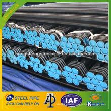 API 5L Gr. X40 tube / tube en acier au carbone pour le gaz naturel et l'huile