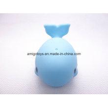 Brinquedos feitos pelo cliente plástico figura do golfinho