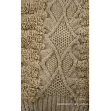 Knitted Pattern in Mohair Blend Yarn