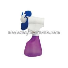 Ventilador de plástico de spray de botella de agua