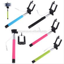 Novos produtos quentes para vara de selfie 2015, Monopod Built-in Shutter Extensível Handheld Selfie Stick