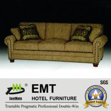 Fabric Hotel Sofa Set Sofá de alta calidad del hotel para la venta (EMT-SF39)