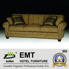 Fabric Hotel Sofa Set High Quality Hotel Sofa for Sale (EMT-SF39)