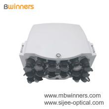 """Caja NAP con conectores Huawei Mini SC con clasificación IP. Caja de distribución óptica de salida de 16 puertos Caja de terminales FTTH """"Precio de fábrica Caja de siesta de fibra óptica de 16 núcleos / Caja de terminales con adaptador Mini Sc,"""