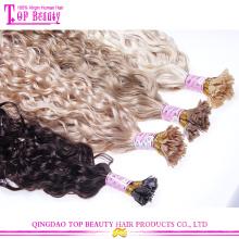 Новые ближайшие индийский девственной U/квартира кончик высокое качество Оптовая лоскут Совет волос наращивание волос