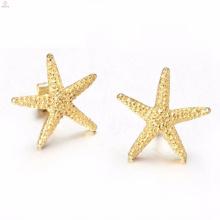 Оптовая Моды Золото Звезда Ожерелье Серьги Кольцо Браслет Ювелирных Изделий
